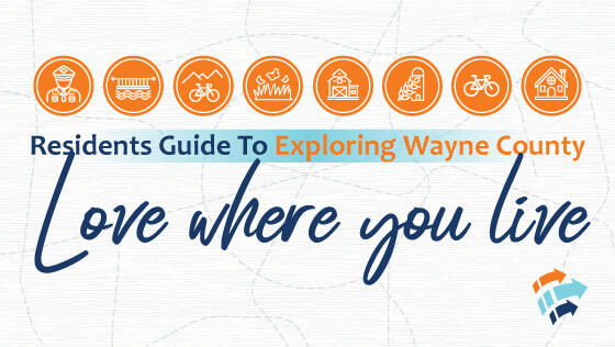 Exploring Wayne County Banner