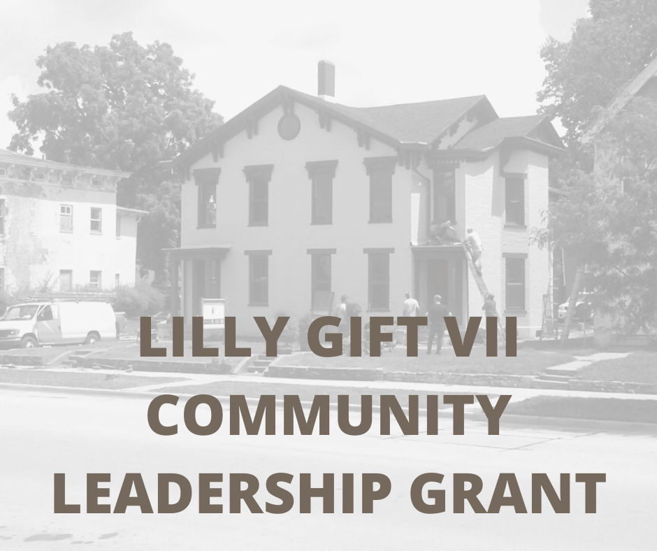 LILLY GIFT VII COMMUNITY LEADERSHIP GRANT